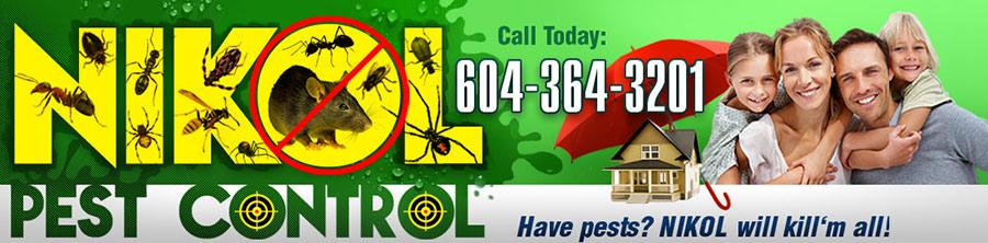 Nikol Pest Control – Vancouver, Canada Logo